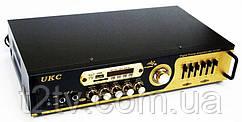 Усилитель звука UKC AV-121BT с караоке и Bluetooth