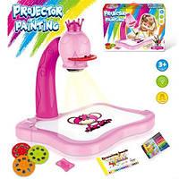 Проектор детский для рисования батар, свет, фломастеры, катриджи