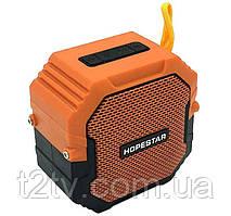 Портативная Bluetooth колонка HOPESTAR T7, оранжевая