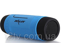 Велосипедна bluetooth колонка Zealot S1 з кріпленням на кермо, блакитна