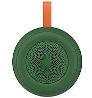 Портативная Bluetooth колонка CELEBRAT TWS SP-8, зеленая