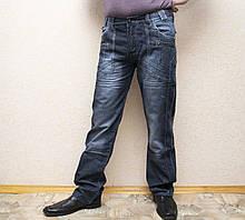 Мужские джинсы синие в стиле Denim. Фирменные молодежные джинсы.