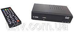 Тюнер DVB-T2 U006 з підтримкою wi-fi адаптера