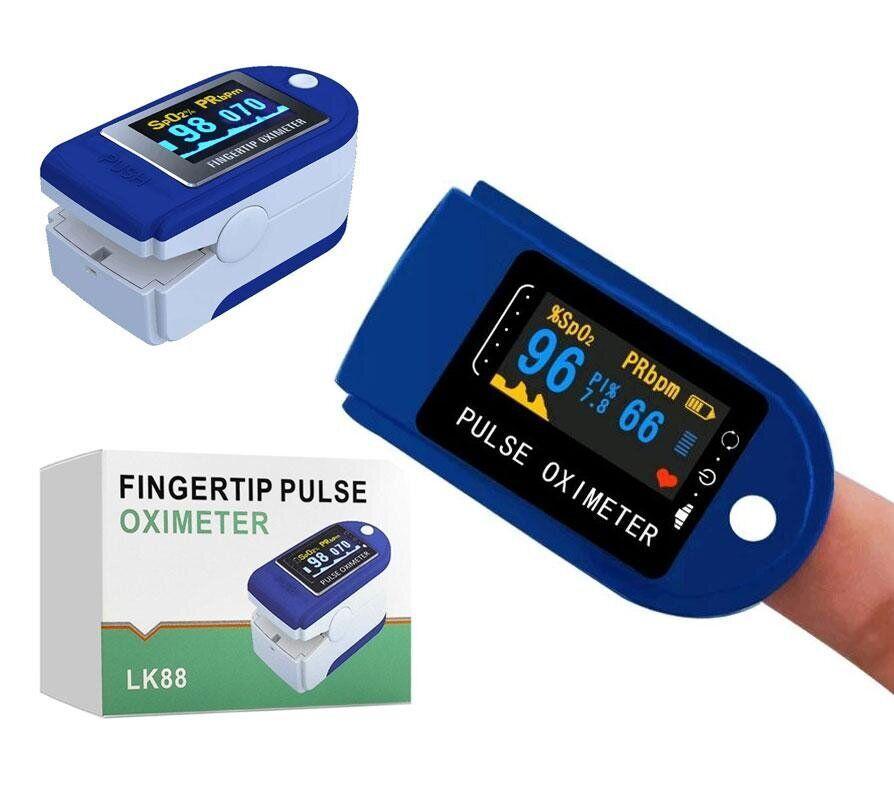 Пульсоксиметр LK-88 Цветной OLED PULSE OXIMETER измерение кислорода