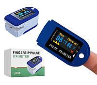 Пульсоксиметр LK-88 Цветной OLED PULSE OXIMETER измерение кислорода, фото 1