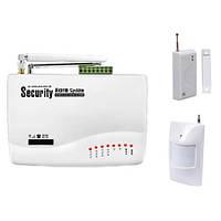 Бюджетная многофункциональная беспроводная GSM сигнализация для дома, офиса, дачи, помещений (модель S206)