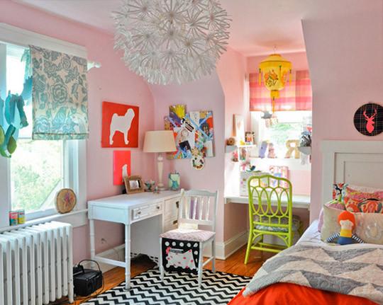 Пошив штор для детской