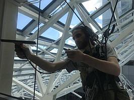 Помыть окна, высотные работы, альпинизм Киев и область