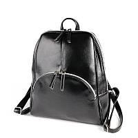 Рюкзак женский черный молодежный городской на молнии М134-33, фото 1