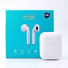 Наушники беспроводные BT KD10 TWS Bluetooth 5.0 сенсорные, блютуз стерео гарнитура, белый, фото 3