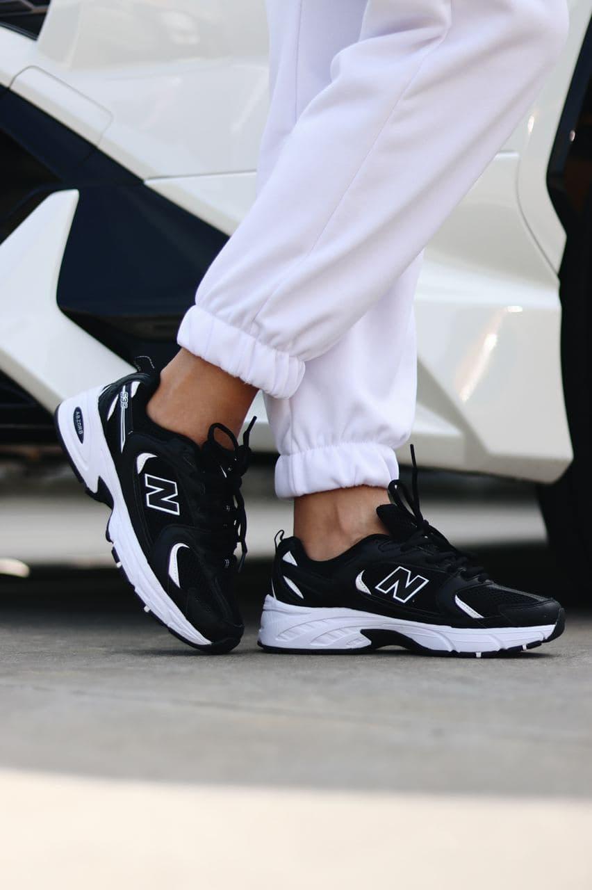 Женские кроссовки New Balance 530 Black White (копия)