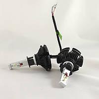 LED Лампы H1 6500K 50W X3 Philips (Led автолампы с активным охлаждением и ip67)