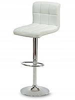 Высокий барный стул Hoker Monro белый