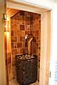 Реализованный проект сауны с дровяной каменкой и комнатой отдыха, фото 6