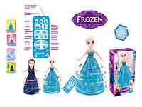 Кукла Frozen 390A-3 2 вида,свет,звук,ездит, пульт