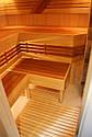 Реализованный проект сауны с дровяной каменкой и комнатой отдыха, фото 9