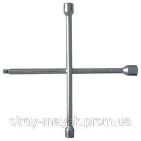 "Ключ-крест баллонный, 17х19х21 мм, под квадрат 1/2 "", толщина 14 мм, СИБРТЕХ"