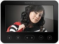 Видеодомофон 7'' Kenwei E706FC-W100 (black) с памятью