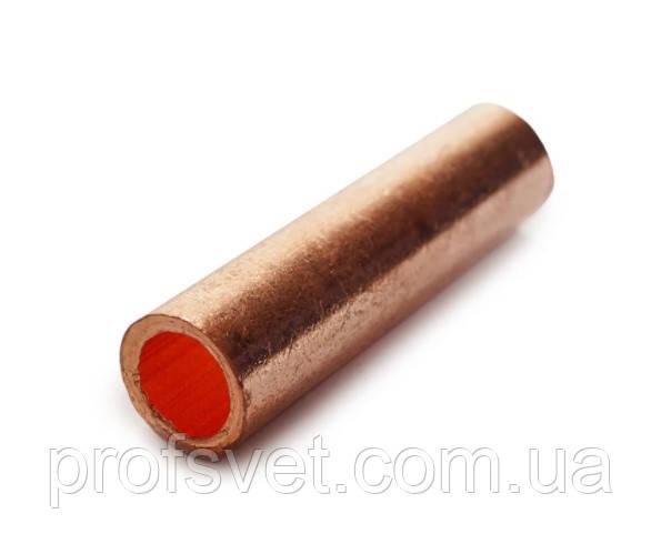 Гильза кабельная медная 4 мм прессуемая ГОСТ