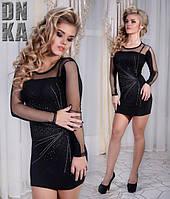 Черное вечернее платье Турция