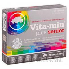 OLIMP Витамины для мужчин Vita-Min Plus Senior (30 caps)