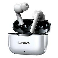 Наушники беспроводные Lenovo LP1 silver