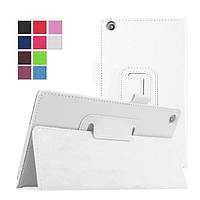 Чехол книжка TTX Leather Case для Asus ZenPad C 7 Z170C Z170CG Z170MG 7.0 White (Белый)