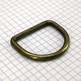Полукольцо 35 мм антик для сумок a5619 (30 шт.), фото 4