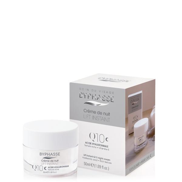 Byphasse Lift Instant Cream Q10 Night Care Крем для лица с лифтинг эффектом ночной крем для лица 50 мл