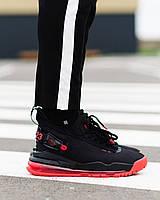 """Чоловічі кросівки Proto Max 720 """"Bred"""" Чорні, Репліка Люкс, фото 1"""