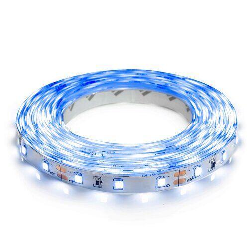 Світлодіодна стрічка OEM ST-12-2835-60-B-20 синя, негерметична, 1м