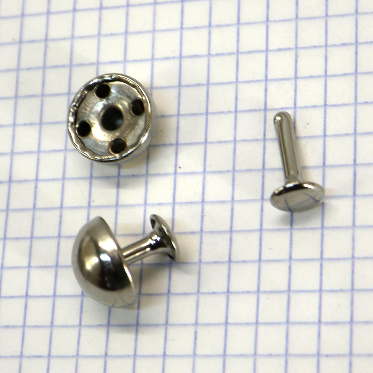 Хольнитен СК 15 мм никель t5112 (100 шт.)