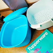 Мульти пароварка Термосервирователь Tupperware для быстрого приготовления, фото 3