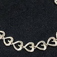 Золотой браслет БУ 585 пробы, фантазийное плетение, вес 5,35, фото 2
