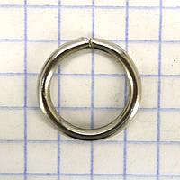 Кольцо 12*2 мм никель для сумок t4351 (200 шт.)