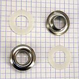Люверс 12 никель t5037 (100 шт.), фото 2