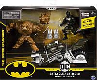 Ігровий набір Бетмен на мотоциклі і Глиноликий BATMAN Batcycle Vehicle with and Exclusive Clayface, фото 1