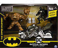 Игровой набор Бэтмен на мотоцикле и Глиноликий BATMAN Batcycle Vehicle with Exclusive and Clayface, фото 1