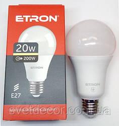 Світлодіодна лампа Etron А70 20W E27 3000К