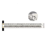 Лінійка вимірювальна деревообробна 400 мм, фото 1