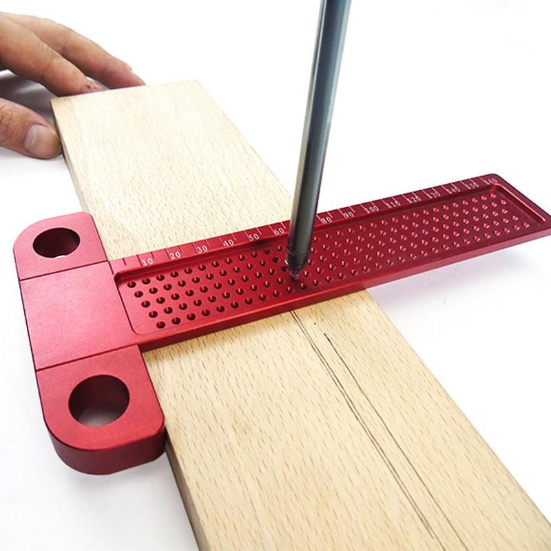 Лінійка вимірювальна деревообробна 260 мм