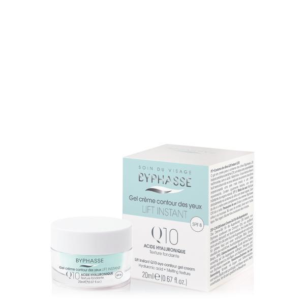 Byphasse Lift Instant Eyes Gel Cream Q10 Крем-гель против морщин для кожи вокруг глаз крем-гель 20 мл