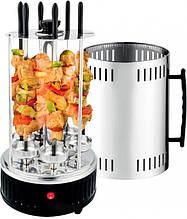 Шашлычница электрическая кухонная BBQ Crownberg CB-7416