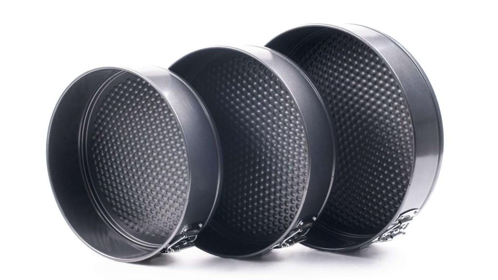 Набор разъемных круглых форм для выпечки Con Brio CB-531   формы для выпекания 3 шт Con Brio