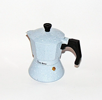 Гейзерная кофеварка Con Brio CB-6703 на 3 чашки | турка Con Brio, фото 1