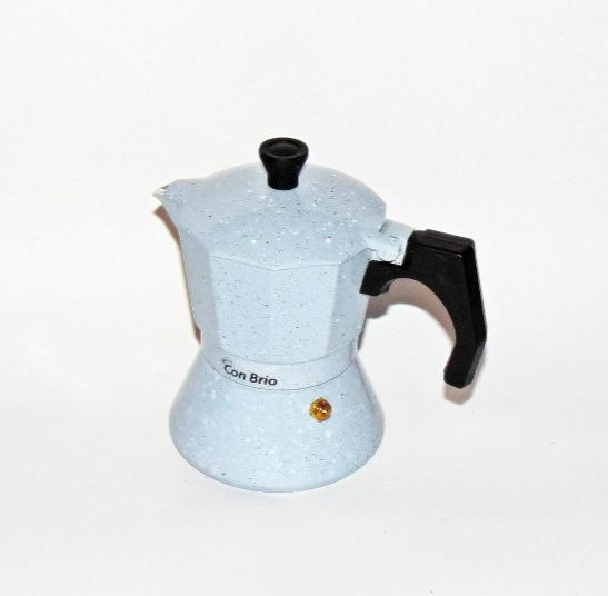 Гейзерная кофеварка Con Brio CB-6706 на 6 чашек   турка Con Brio