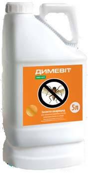 Инсектицид ДИМЕВИТ (аналог БИ-58) Диметоат, 400 г/л, пр-во «Укравит», фото 2