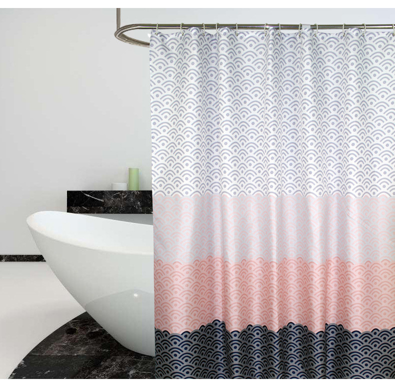 Скандинавская шторка для ванной Curtain