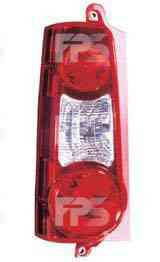 Фонарь задний левый 2 двери красный (тип 2008-12) для Peugeot Partner 2008-12
