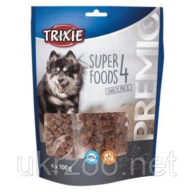 Лакомство для собак Trixie PREMIO Superfoods 4 x 100 г (курица, утка, говядина, баранина) 31854